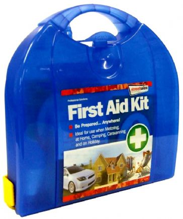 Streetwize First Aid Kit Deluxe with Mounting Bracket